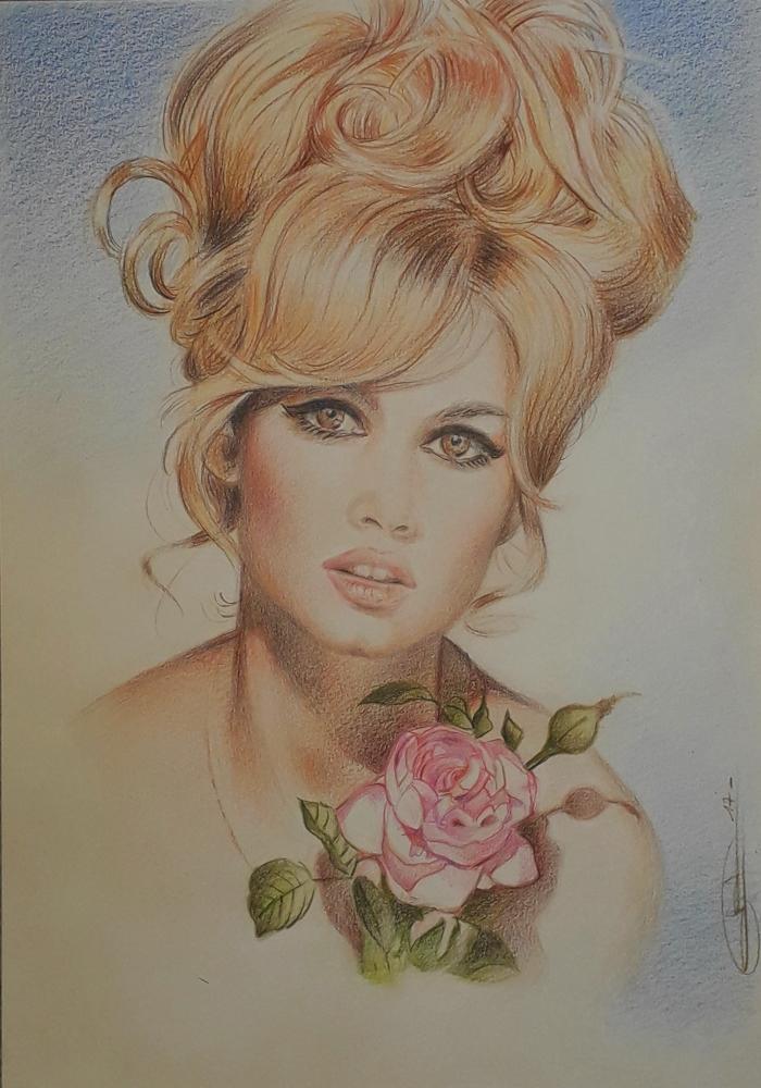 Brigitte Bardot par GARY